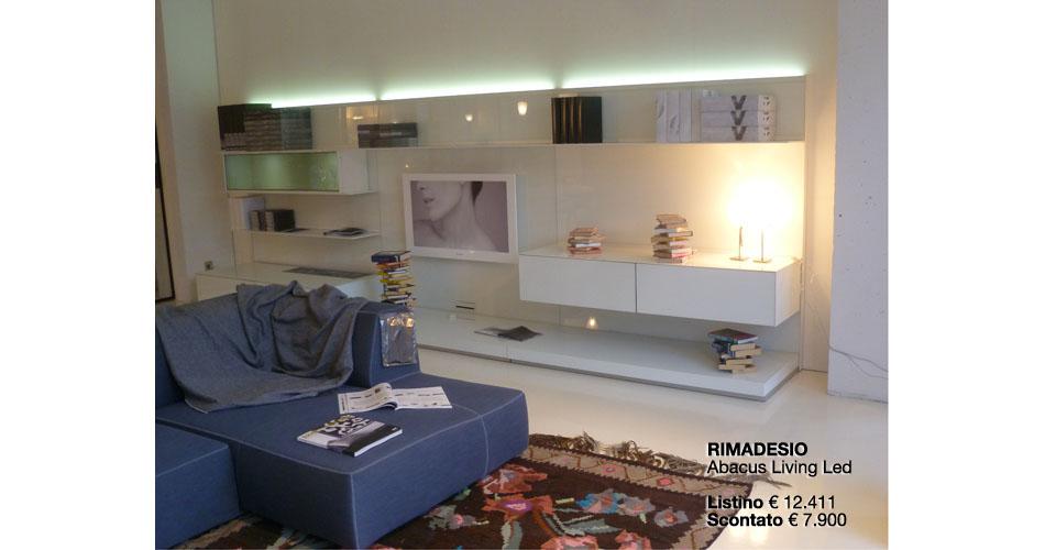 RIMADESIO ABACUS LIVING LED LISTINO €12.411,00 SCONTATO 7.900,00